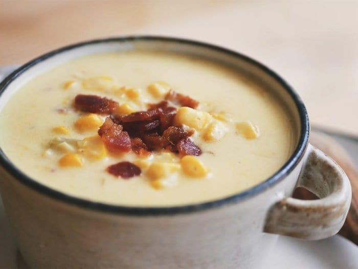 玉米濃湯 (Creamy Corn Chowder)