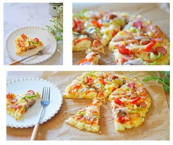 米飯披薩 (Rice Pizza)