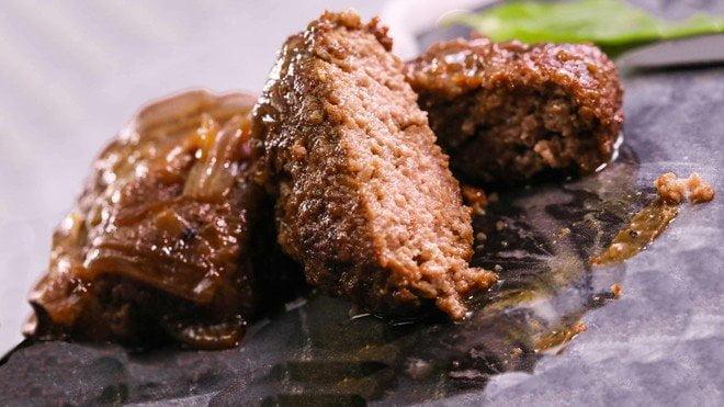 洋蔥牛肉餅
