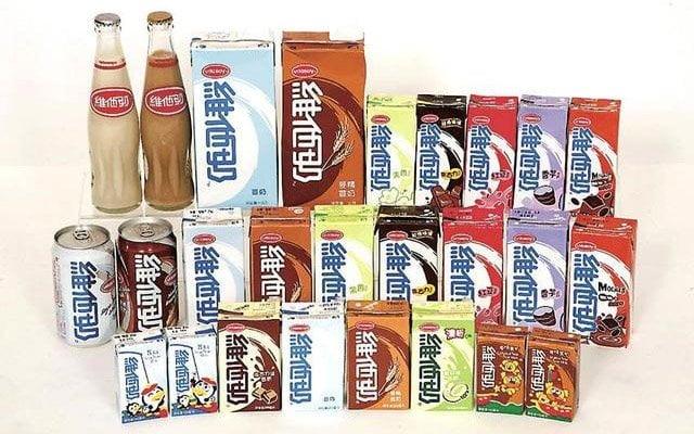 各種味道的維他奶  (圖片來源:網絡)