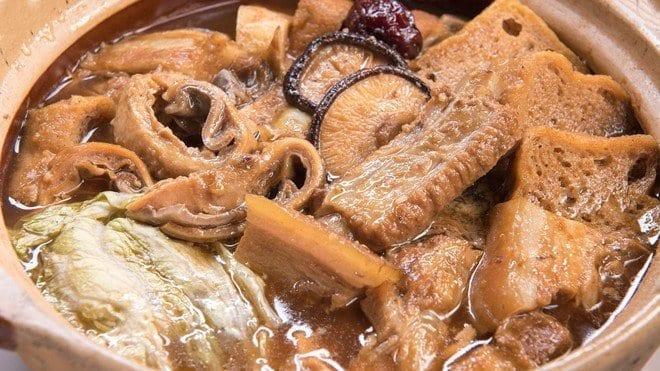 新加坡美食 - 肉骨茶 (Bak Kut Teh)
