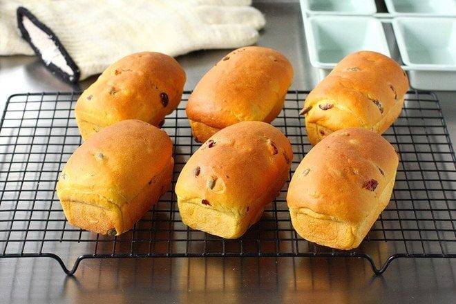 南瓜小炸彈麵包