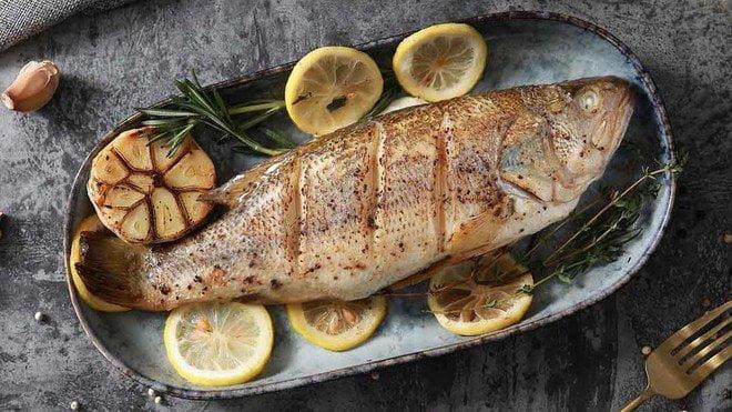 地中海檸檬烤魚