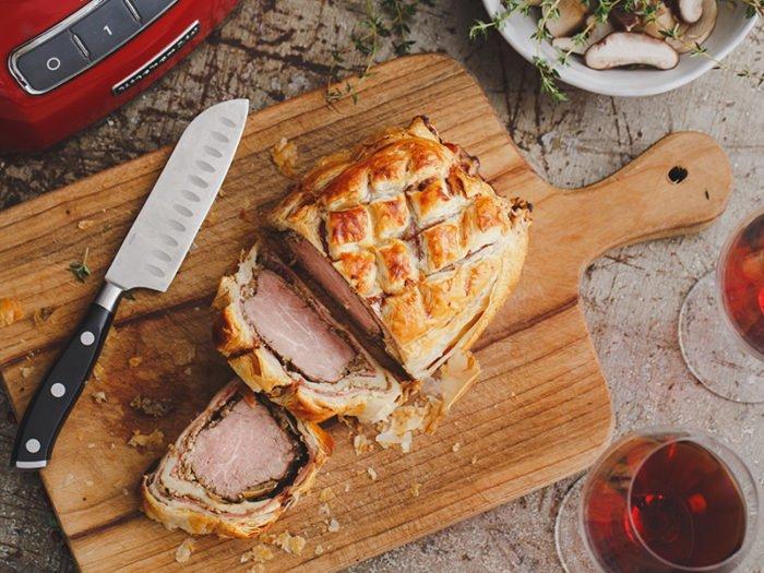 威靈頓牛柳(Beef-Wellington)-自製酥皮,超詳細版本