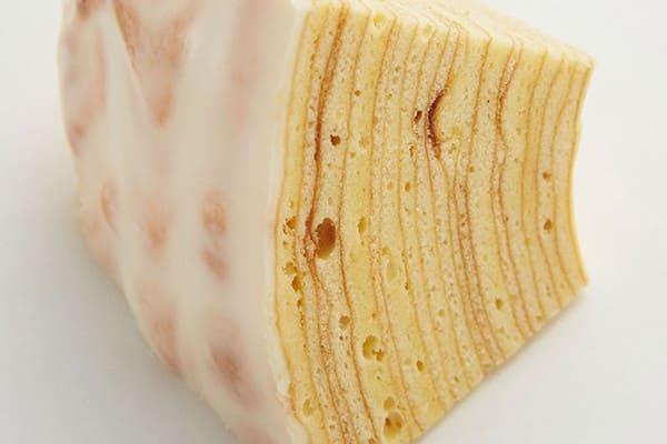 尤海姆年輪蛋糕的切面