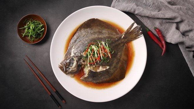 清蒸多寶魚