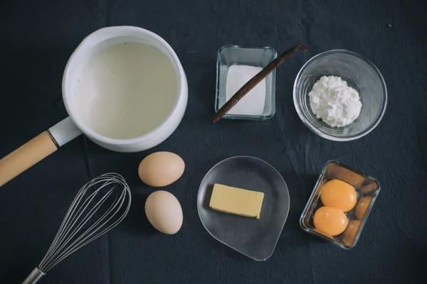甜品界的黃金配角:雲呢拿吉士醬-香草卡仕達醬-Vanilla-Custard-Sauce-1