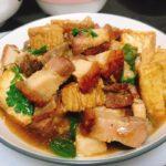 茶餐廳系列:男人的浪漫-豆腐火腩飯