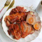鹹蛋黃叉燒-滋味無窮,烤箱版