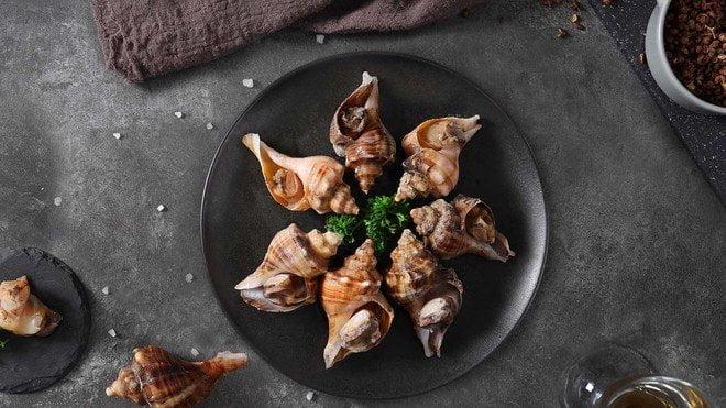 鹽焗大海螺