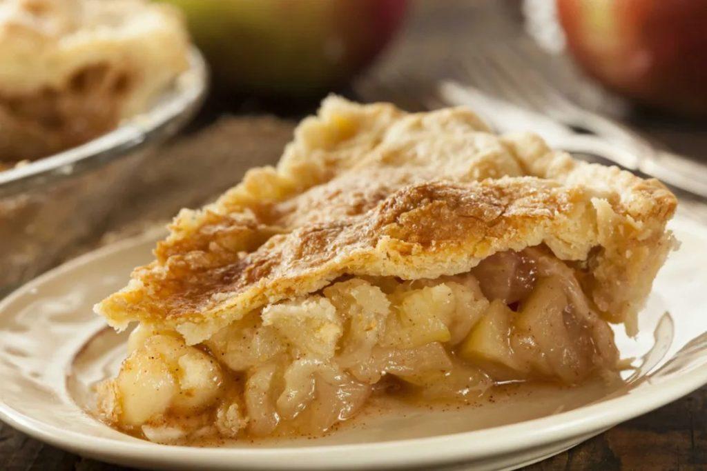 烤蘋果派是愛迪生一整天的食物