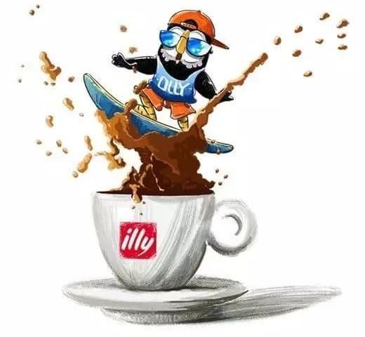 「每天,世界各地的人們享用超過六百萬杯的illy 咖啡。」