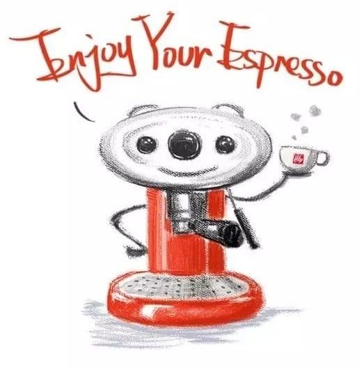 大家都說很像E.T.的illy X7.1 膠囊咖啡機