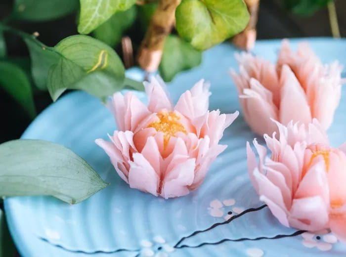 宮廷御用點心-荷花酥 (Lotus crisp)