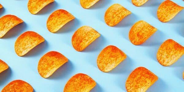 筒裝薯片每片都一模一樣