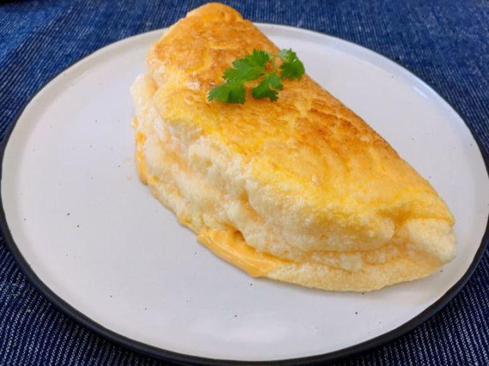 舒芙蕾歐姆蛋 Fluffy Souffle Omelette