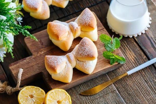 蝴蝶結麵包 Bowknot bread