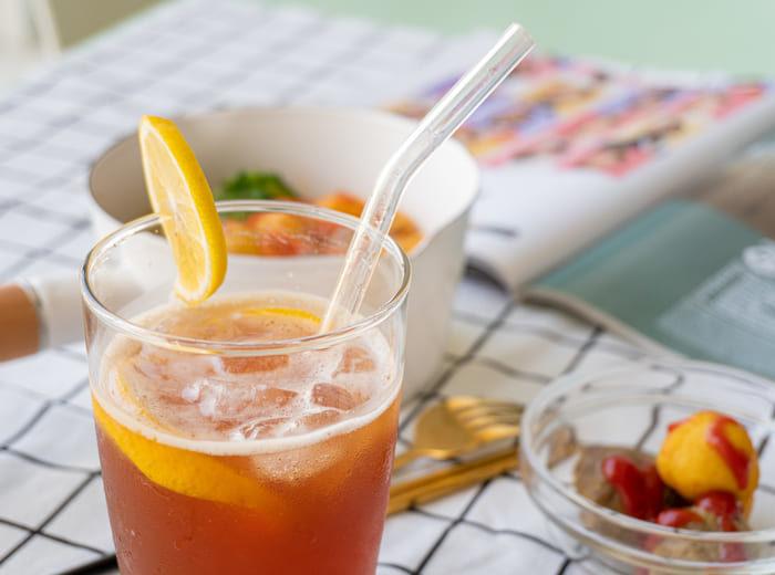 手搖凍檸檬茶 (凍檸茶) Hong Kong Style Iced Lemon Tea