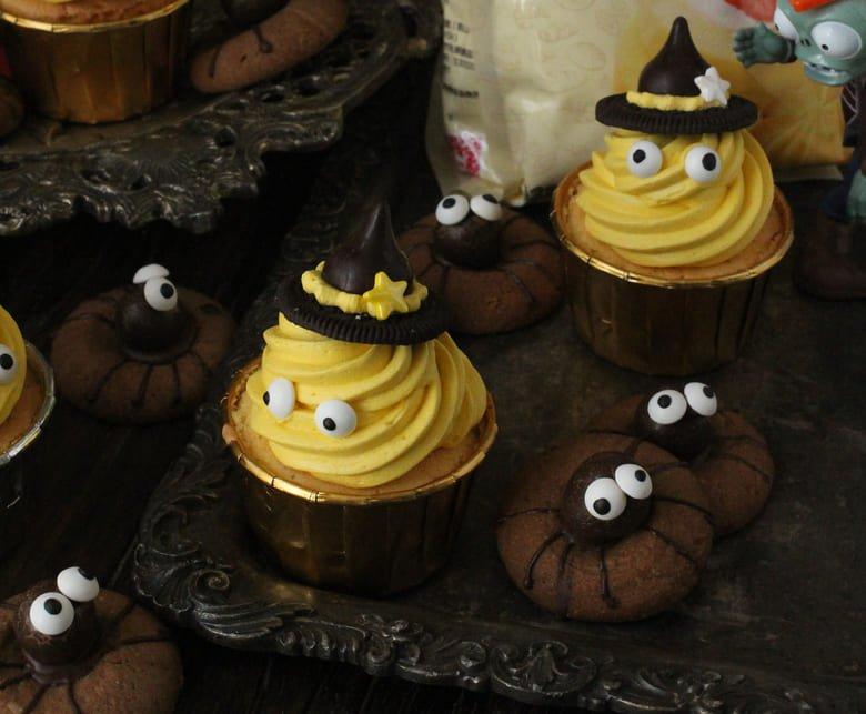 萬聖節南瓜杯子蛋糕 Halloween Pumpkin Cupcakes