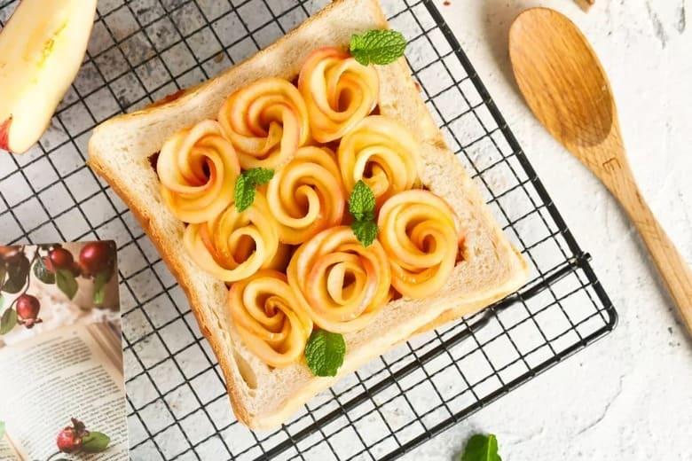 蘋果玫瑰花吐司 Apple Rose Toast