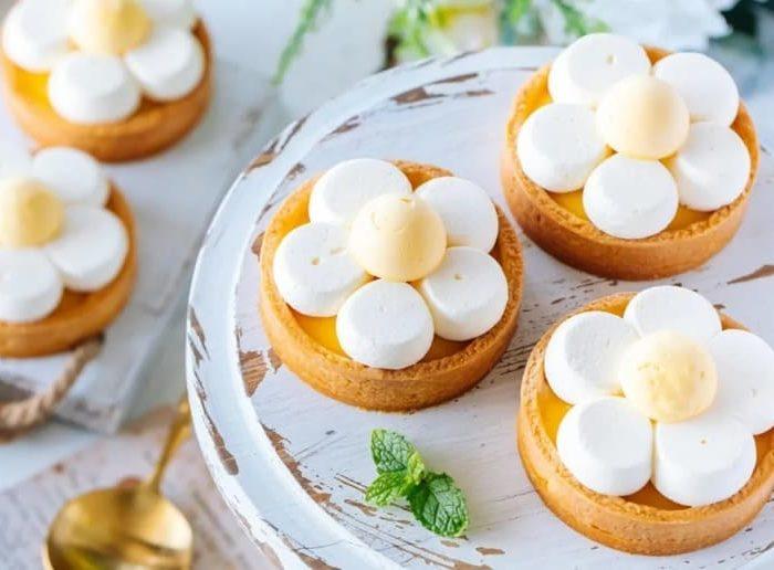 小雛菊檸檬撻 Daisy Lemon Tart