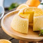 香橙蒸蛋糕 Steamed Orange Sponge Cake