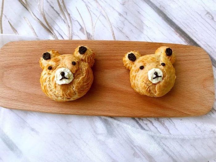 豆乳小熊泡芙 Teddy Bear Puff with Soymilk